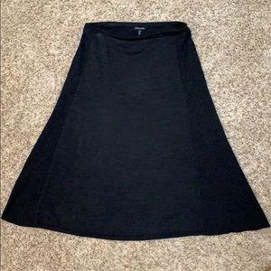 Eileen Fisher wool and silk maxi skirt